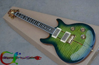 santana - Custom Shop Electric Guitar IN green TH ANNIVERSARY SANTANA NEW