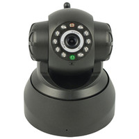 Wholesale Nightvision IR Webcam Web CCTV Camera WiFi Wireless IP Camera colorful retail box white black