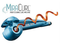 Wholesale New Design Pro Miracurl Titanium Hair Curling Iron Wave Machine Hair Curler Machine Mira Curl With Retail Package Free DHL Shipping