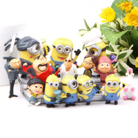 Wholesale Despicable Me Kids gifts toys Figures Set quot quot Gru Minions Girls Idea best