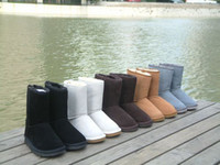 Wholesale Factory Price Short Snow Boots Women Winter Boots Warm Boot with Box Colors US5