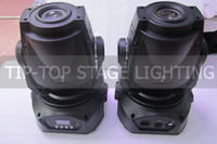 Wholesale 60W Led moving head light CH DMX512 W LED Spot Moving Head Light USA Luminus FOCUS Facet Gobo Light V V