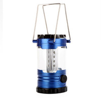 Wholesale New Hot sales LED Camp Lantern Tent Light Outdoor Lighting Portable Hanging Hiking Fishing Lamp