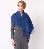 Wholesale Fashion Womens Imitation of Cashmere Tassel Neckerchief Shawl genuine