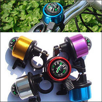 Wholesale 600pcs New Cool Compass Bicycle Bike Handlebar Bell Ring Horn six colors
