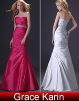 Model Pictures Sweetheart Chiffon Wholesale - - High Quality A-line Evening Dresses Sweetheart Beaded Ruched Formal Dress Bridesmaid Gowns CL2289