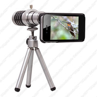 Wholesale Aluminum Tripod Camera X Magnifier Zoom Telephoto Lens for Apple iPhone G
