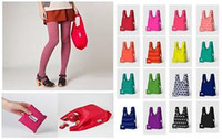 Wholesale 8 colors aggu Baby Baggu Reusable Shopping Bag Grocery Bags Tote You Choose Color JY56 DHL free