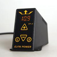 Kits de tatuaje Digital doble fuente de alimentación LCD ELFIN Power EP-2 para máquina de tatuaje profesional Pop