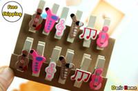 Wholesale sets set Musician Wooden Memo Clips Photo Clips