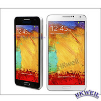 Note 3 Cell Phone Quad Band Single Sim Card With 4. 75Inch Sc...