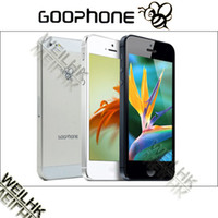 Wholesale Goophone i5s GB ROM MTK6515 Android phone with quot IPS Screen WIFI Cell Phone GA0596