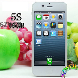 Wholesale I5 GB ROM Dual Core mobile phone MTK6577 with quot IPS screen cell Phone G GPS