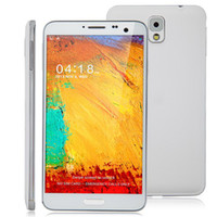 Smartphone English  N9000 Smartphone Android 4.2 MTK6589T Quad Core 5.7 Inch FHD IPS Screen 1GB 16GB White