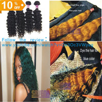 Wholesale Same Mixed Length A Virgin Peruvian Wavy Hair Extension Deep Wave Curly Unprocessed Remy Hair Natural Color Queen Hair Products