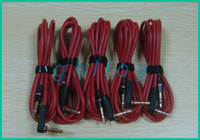 Wholesale Replacement mm Audio Red Cable without MIC L Plug Cables for Headphone Headsets