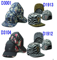 Ball Cap Red Man Free shipping Floral HUF cap caps leopard hater snapback hats super hot Hater Hat snapbacks huf hat top quality