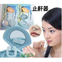 Anti-Snoring Anti Snore Free Nose Snoring Stop Stopper Clip Sleep Sleeping aid Device clip 360pcs lot