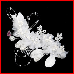 Wholesale In Stock Tiaras amp Hair Accessories Beautiful White Belly Dancing Tribal Party Wedding Costume Headdress Head Flower