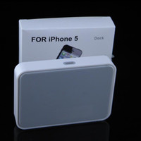Wholesale IPhone Dock Charger Docking Station Charger Cradle Sync Stand Holder for iphone5 Newest