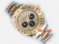 Wholesale more items in list Hot Selling Online Gold Dial Watches Men Automatic Mechanical Hand Wind Mens Dress WristWatches rd23