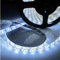 Wholesale Brighter than SMD LED Meter SMD LED light M FT LED waterproof IP65 Cold white super bright LED Flexible Light Strip