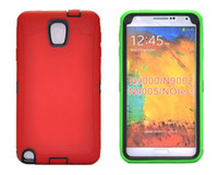 For Samsung Silicone  PU and Silicone 3 in 1 hybrid Hard Back Case for for Samsung Galaxy N9000 Note 3 Note3 MOQ 100pcs
