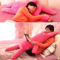 Teddy Bear White Plush Hpp&Lgg brand Stuffed & Plush Animals cartoon rabbit pillow cushion 75cm long pillow plush doll rabbit