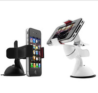 For Apple iPhone   Universal Car Holder Cell Phone Car Mount Adjustable Width Windshield Cradle for iphone 5 5C 5S Samsung NOte 3