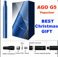 Wholesale Ago G5 Herb Vaporizer Super A Quality LCD Puff Counts Portable Pen Style Dry Herb Vaporizer Top quality
