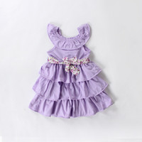 baby girl kids strap dress cake dress lace dress layers dres...