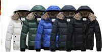 Wholesale 2014 New Men s Casual Fashion winter warm Rabbit fur collar rabbit fur collar can detachable Men s Down Coats