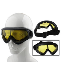 Wholesale Hot Fashion Yellow Lens Skiing Snowboarding Sports Eyewear Glasses UV400 YC0031
