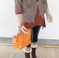 Wholesale 10pcs Fedex Fashion mini Candy Cute Baby Rainbow Color BB Girls PU Shinny Beauty Handbag Order Mix colors Handbag Coin Bag0pc