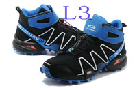Men Soft Spike  Drop Shipping>Top Selling Men's High Shoes Running shoes Salomon speedcross 3 Sport Running Shoes Men's High Shoes Sneakers EUR40-45 CPAM