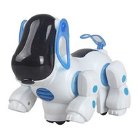 Wholesale New Robotic Cute Electronic Walking Pet Dog Puppy Kids Toy with Music Light