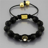 Wholesale Charm African Jewelry Shamballa Natural Stone Bracelets Hand woven unisex scrubs Agate Bracelet For Men Women