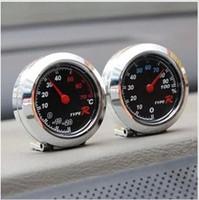 Wholesale Typer car split circle thermometer car hygrometer car thermometer yh