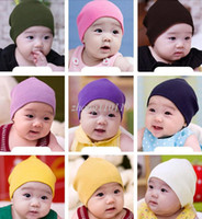 Boy Summer Crochet Hats christmas RWarm Baby Hats Crochet Costume Baby Caps Children's Knitted Caps The Winter Autumn Colorful Cap For Girl Boys Free Shipping