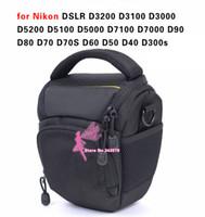 Wholesale Waterproof Camera Case Bag for Nikon DSLR D3200 D3100 D3000 D5200 D5100 D5000 D7100 D7000 D90 D80 D70 D70S D60 D50 D40 D300s
