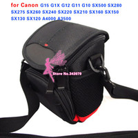 Wholesale Camera Case Bag for Canon G15 G1X G12 G11 G10 SX500 SX280 SX275 SX260 SX240 SX220 SX210 SX160 SX150 SX130 SX120 A4000 A3500