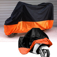 Wholesale New Quality Dustproof Motorcycle Motor protection Cover Quality Rain proof Protective Sheets XL A2005009XL