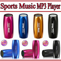 Wholesale Sports Music Portable Mini Speaker Sound Box MP3 Player on bike bicycle with FM Radio and Micro SD TF card reader
