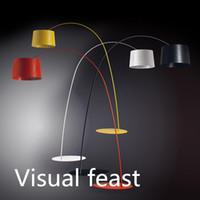 Wholesale Italy Foscarini Twiggy Terra Floor Lamp Marc Sadler Design Trendy Floor Lamp Indoor Lighting E27 Bulbs W LED Energy Saving