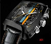 automatic diving watches - 2016 Luxury Men Mechanical Automatic Monaco Stainless Steel Watch Sport Dive Mens Wristwatches ta