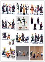 Finished Goods anime toys - 48 styles Naruto Anime Figures Dolls Toys Cartoon Doll Model Birthday Christmas Gift