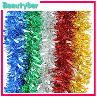 Wholesale Freeshipping m christmas tree decoration strip decoration garland Christmas ribbon Christmas decoration