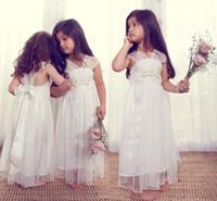 New Arrival Glitz Baby Cupcake Flower Girl Dresses 2014 Long...