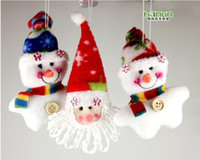 Wholesale Santa Claus Christmas decoration Pendant Kids gifts Decoration Supplies gift