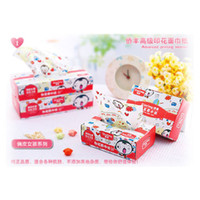 Wholesale Print box facial tissue paper single box large boxed tissue table napkin paper